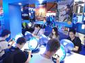The Sony booth