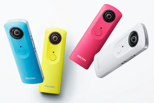 Ricoh's Theta m15 camera can shoot omnidirectional videos up to three minutes long.