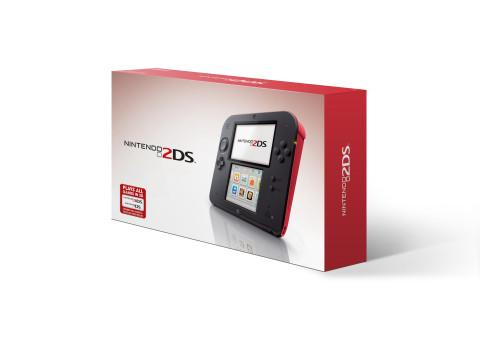 Instead of the clam shell design shared by the Nintendo DS and 3DS, the new 2DS has a slate form factor.