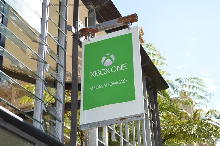Microsoft showcased the Xbox One to the media in Sydney