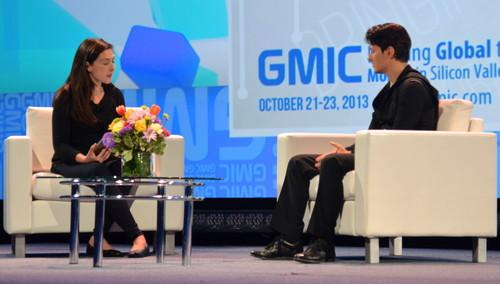VK CEO Pavel Durov sits down with TechCrunch co-editor Alexia Tsotsis at GMIC in San Francisco on Oct. 22, 2013.