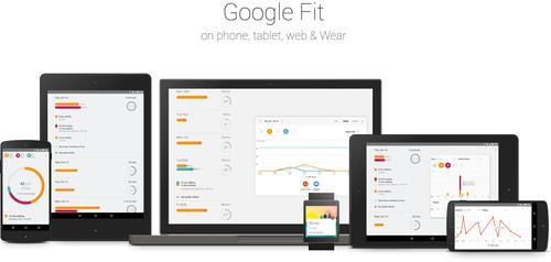 Google's Fit app tracks physical activity and weaves in data from other apps.