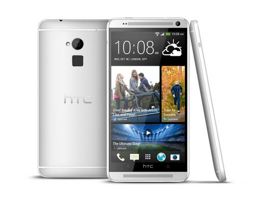 The HTC One Max has a 5.9-inch screen.