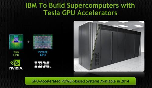 IBM's Power8 chip and Nvidia's Tesla GPU join forces (slide)