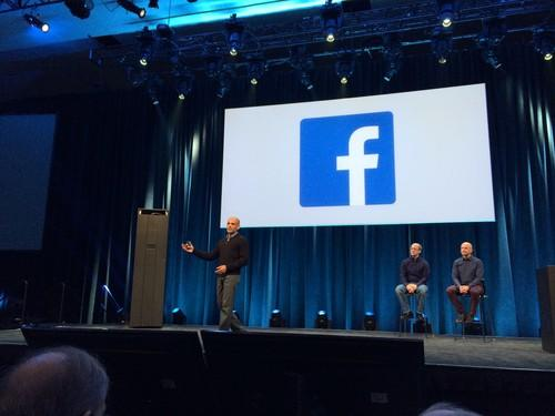 Jay Parikh shows Facebook's Blu-ray storage system at Open Compute Project summit on Tuesday