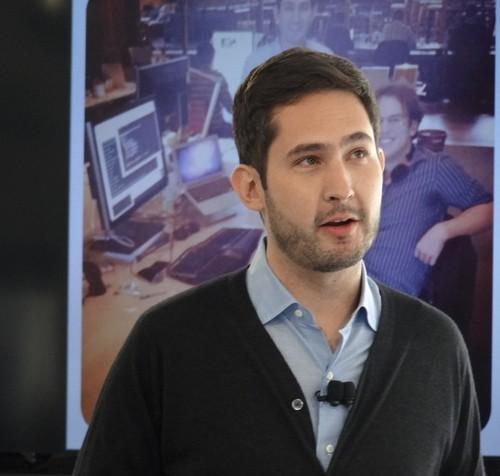 Instagram CEO Kevin Systrom introducing Instagram Direct