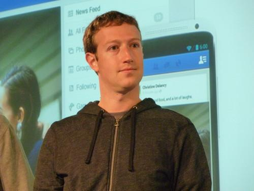 Mark Zuckerberg, CEO of Facebook, at an event at the company's headquarters on March 7, 2013