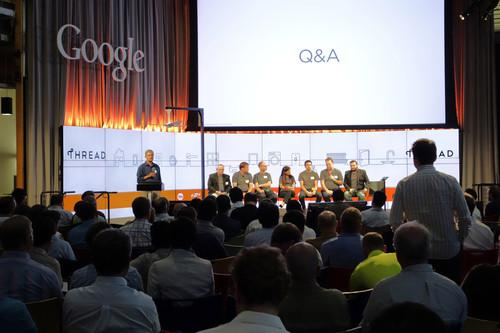 More than 300 people attended an event for the Thread Group at Google headquarters on Tuesday.