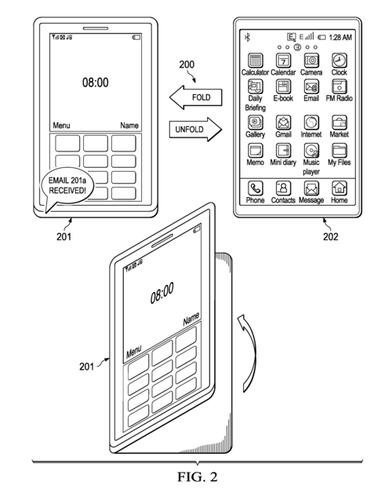 "SAP has filed a patent application describing a ""foldable information worker mobile device"" that combines a phone, laptop and tablet in one unit."