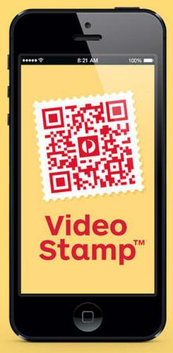 Australia Post has introduced stamps with QR codes that let senders assign a video to a package.