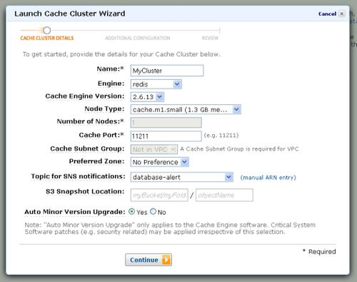 Amazon Web Services now offers Redis as an option for caching