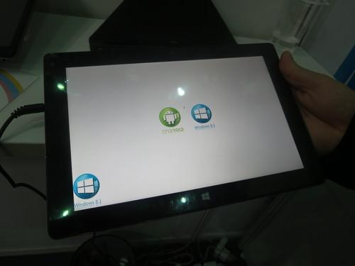 Shenzhen Potato Technology Co. Ltd.'s dual-boot Android/Windows tablet