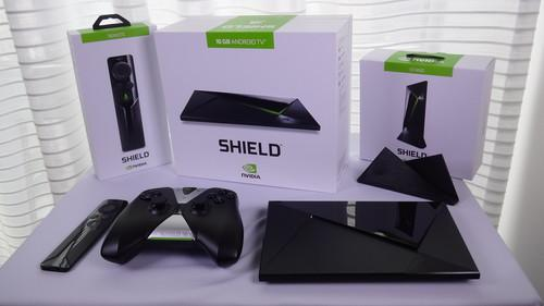 Nvidia's Shield TV Internet- streaming device with Android TV