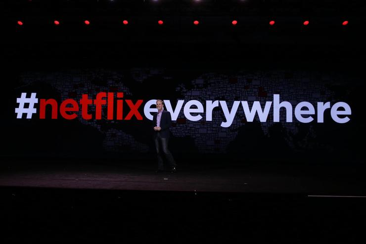 Netflix inches towards global dominance