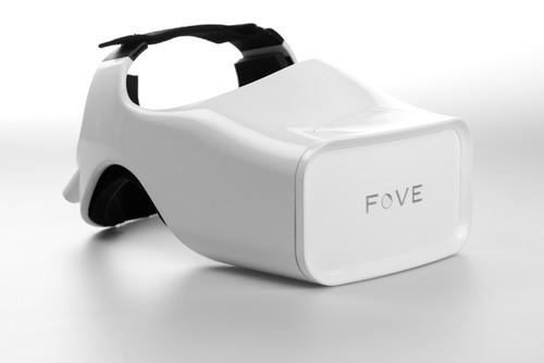 Fove's headset will let a person use eye movements to control virtual reality environments.
