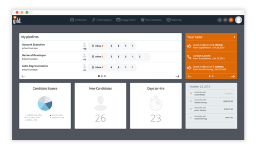 Gild's new hiring analytics dashboard