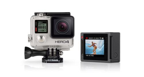 GoPro's upcoming camera mount will use six six Hero4 cameras to shot VR content.