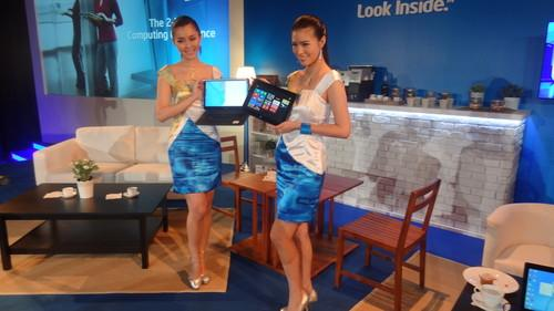 Ultrabooks with Intel's Core chips