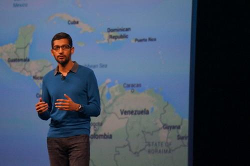 Sundar Pichai at Google I/O 2015