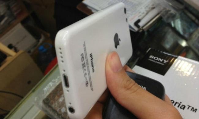 """A proported """"iPhone 5C"""" case that appeared on Amazon earlier this week."""