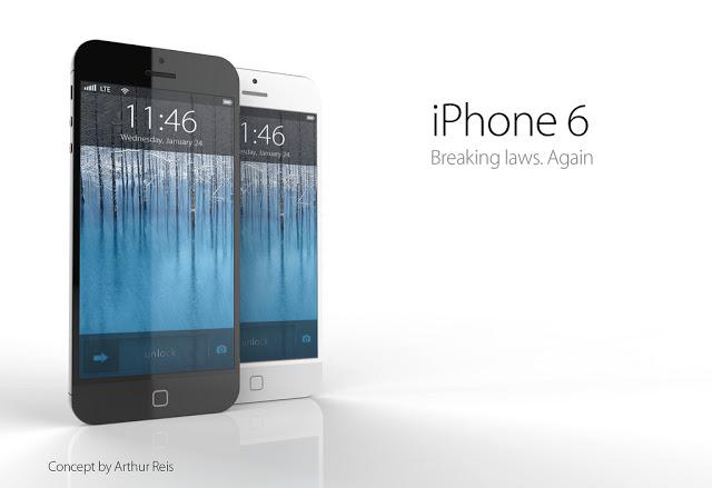 An iPhone 6 concept (Image credit: Arthur Reis)