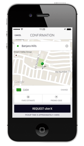 Uber starts experimenting with cash payments in India