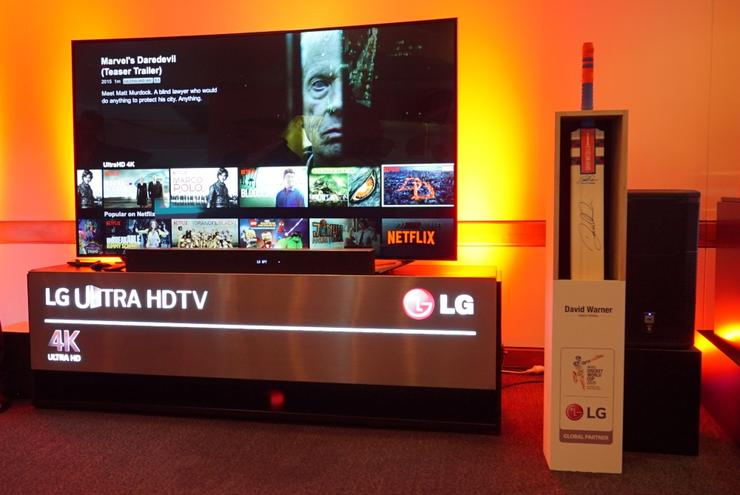LG has lots of runs on the board already with its 4K TVs, and is continuing to expand the range in 2015, releasing 17 new 4K (UHD) models.