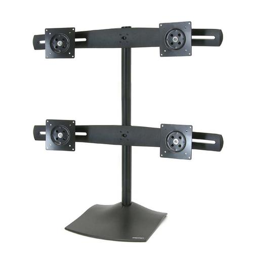 The Ergotron DS100 monitor stand.