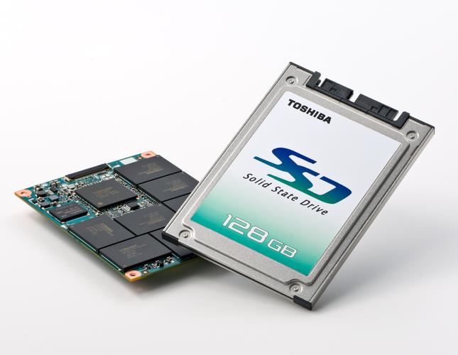 Toshiba's solid state disk (SSD) drive