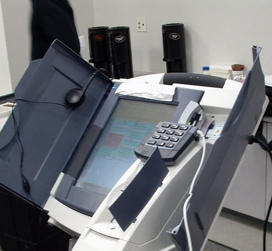 An electronic voting machine