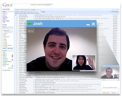 Google's Web-based video chat