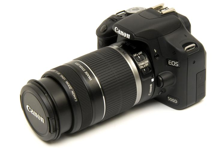 Canon's EOS 500D is a nice step up from the 400D. It is worth considering this digital SLR if you want the ability to capture high quality video with a still camera.
