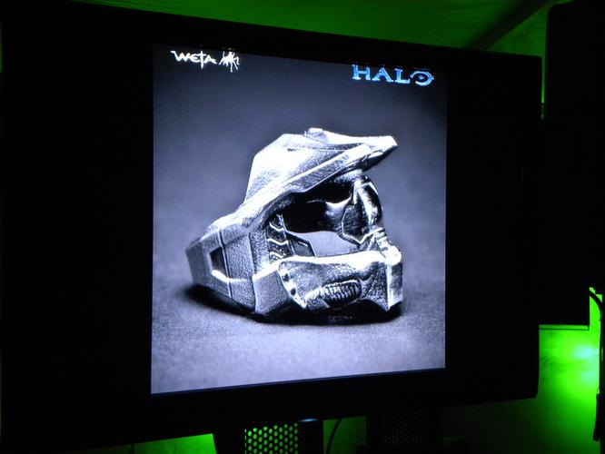 Pre-production work on Halo: the Movie had already begun at Weta Workshop before the project was canceled.
