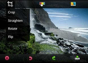 Adobe Photoshop.com Mobile for Android is a free photo editing application