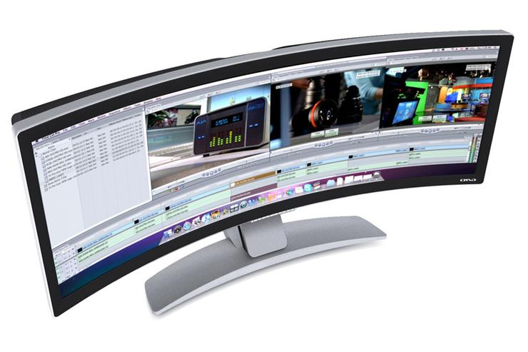 Ostendo 43-inch curved monitor