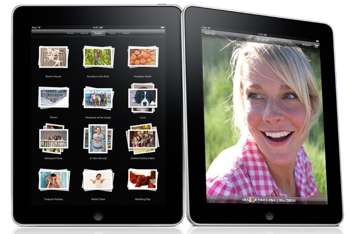 Apple's iPad, announced this morning