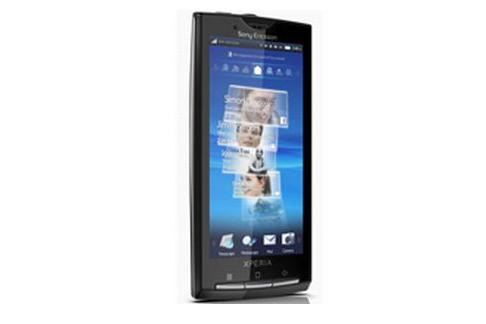 The Sony Ericsson X10 mobile phone will run Android 1.6 OS at launch.