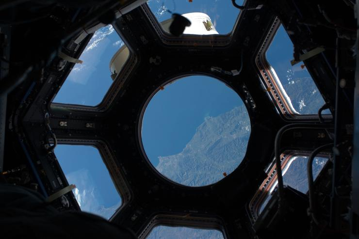 The new seven-window cupola on the International Space Station, will act as a central command post for the space station's robotics work.