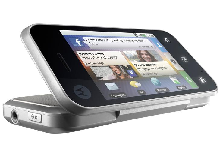 Motorola's BACKFLIP is one of two new Android-powered smartphones jointly unveiled today by Motorola and Optus.