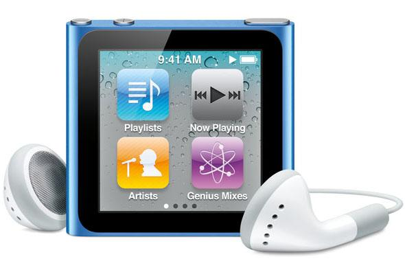 Apple's new iPod Nano