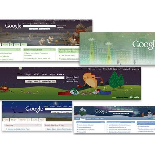 A collection of iGoogle themes
