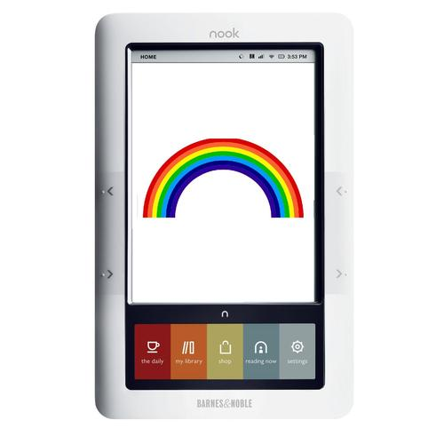 Barnes & Noble (accidentally) reveal the Nook Color