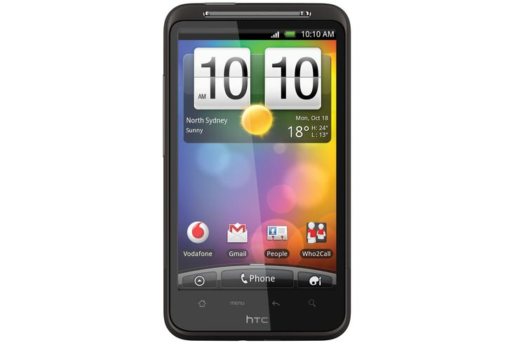The HTC Desire HD will be sold exclusively through Vodafone in Australia.
