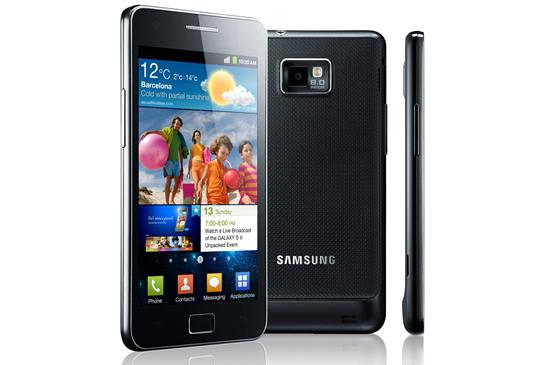 Samsung's Galaxy S II Android phone