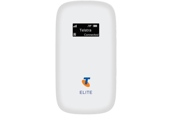"Telstra claims the Elite Mobile Wi-Fi is ""Australia's fastest battery-powered 3G mobile Wi-Fi device"""