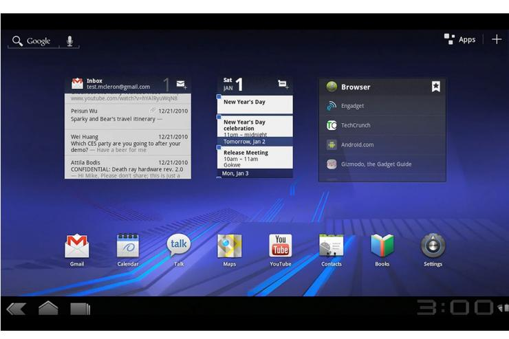 Android 3.0 'Honeycomb' is Google's tablet operating system
