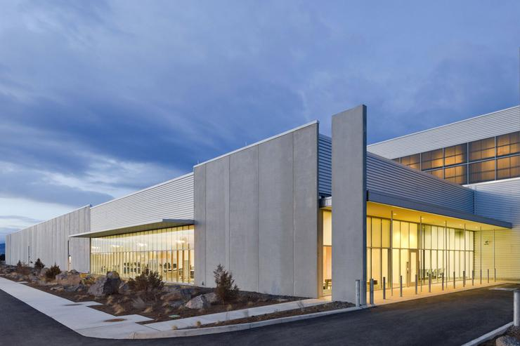 Facebook's data center in Prineville, Oregon