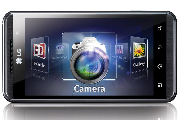 The LG Optimus 3D Android phone