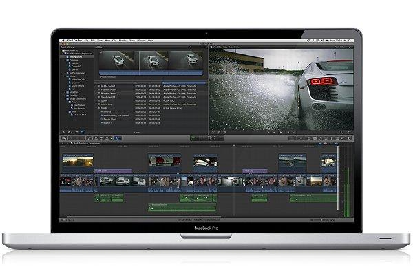 Apple's Final Cut Pro X video editing 'app'.