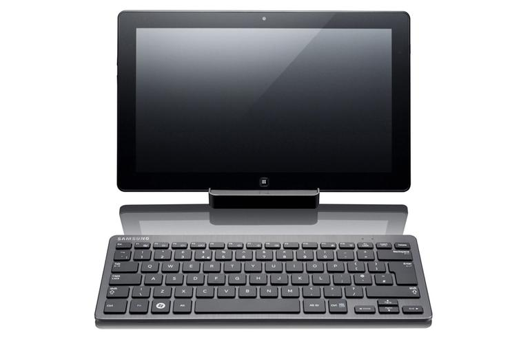 Samsung's Slate PC Series 7 runs Windows 7 and is powered by an Intel Core i5 CPU. It's a tablet that's both comfortable to use and powerful and we think it will become a popular model among business users as well as home users.